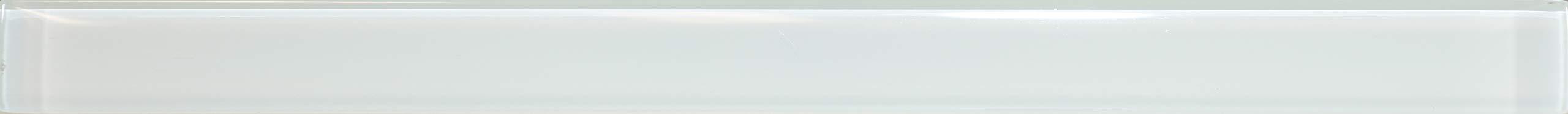 Manhattan 5/8X8 Glass Pencil White