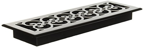 Decor Grates SPH414-RB 4x14 Scroll Plated Register, 4-Inch by 14-Inch, Rubbed Bronze