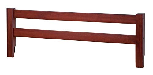 Safety Rail Guard for Beds and Bunk Beds 1002 by Palace Imports, Mahogany, 14.75