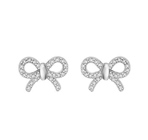 Pave Prive femme  Argent 925/1000  Argent #Silver Rond   Transparent Diamant