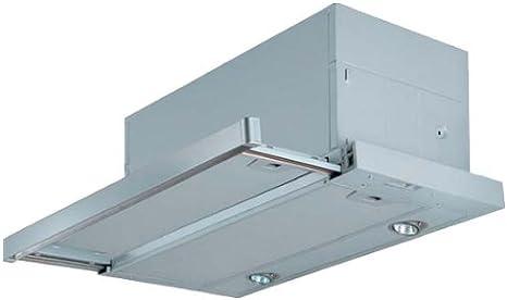 FABER S.p.A. MAXIMA EG8 AM/X A60 680 m³/h Telescópica o extraplana Aluminio - Campana (680 m³/h, Recirculación, 47 dB, 55 dB, 66 dB, Telescópica o extraplana): Amazon.es: Grandes electrodomésticos