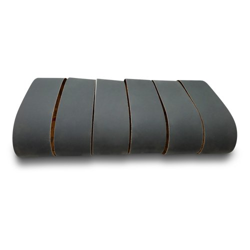 4 X 36 Inch Silicon Carbide Sanding Belts - 600, 800, 1000 Grits - 6 Pack Extra Fine Grit Assortment