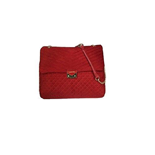 Valentino by Mario ValentinoRitas - Borsa a Spalla Donna, (Rosso) 9x38x38 cm (B x H x T) …