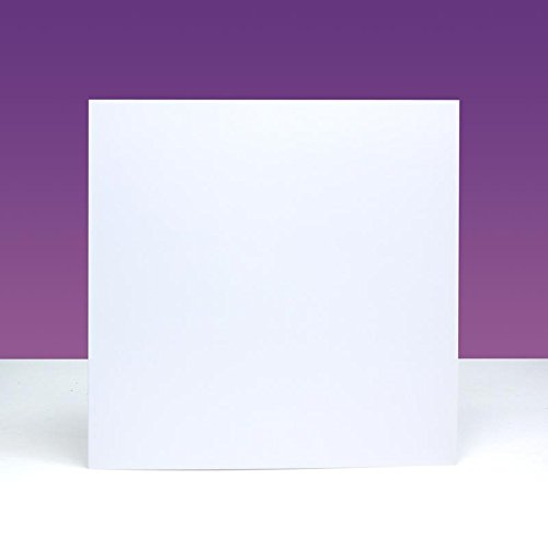Hunkydory Crafts 300gsm Cards & Envelopes 5x5-inches CBIM26 (Card Blank General)