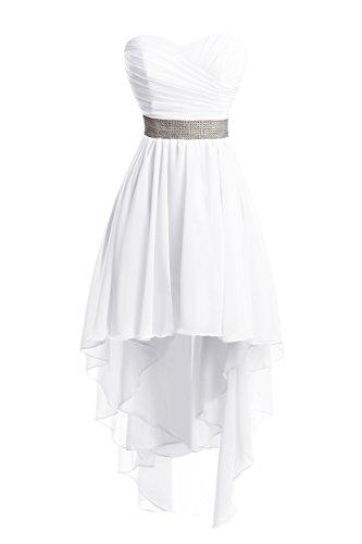 6595f7b5000 Amazon.com  Chengzhong Sun Women High Low Lace Up Prom Party Homecoming  Dresses  Clothing
