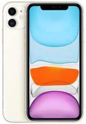 """iPhone 11 Branco com Tela de 6, 1"""", 4G, 128 GB e Câmera 12"""