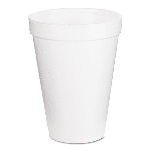 Dart Small Drink Cup - 12oz - 25 / Bag - Styrofoam - White
