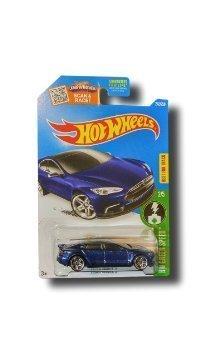 Hot Wheels, 2016 HW Green Speed, Tesla Model S [Blue] Die-Cast Vehicle # 242/250 (Tesla Model Car compare prices)