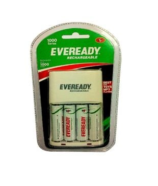 Eveready Bp4c Aa 1000 Nimh Charger And 4 Rechargeable Battery White Buy Online In Bermuda At Bermuda Desertcart Com Productid 80324178