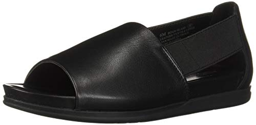 Aerosoles Women's Hour Glass Loafer Flat, Black Leather, 10 W US