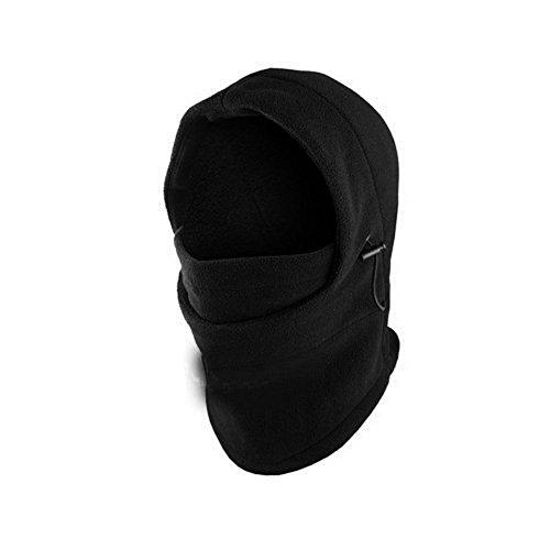 Dickie Balaclava - 6 IN 1 Fleece Thermal Neck Winter Warmer Hat Scarf POLICE Hood Balaclava Snood