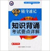 Book High school research papers carry shorthand political knowledge test points recite Detailed ( 2014 )(Chinese Edition)