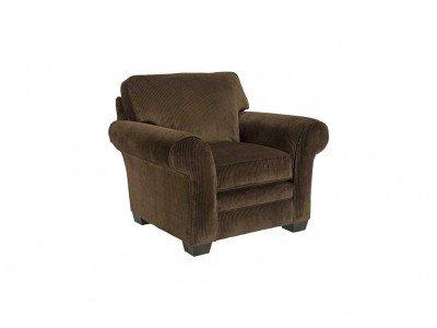 Broyhill Zachary Chair, Brown, Chocolate