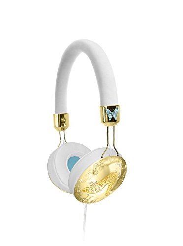 Cinderella Fashion Over-the-Ear Headphones with inline Mic, CN-M48.FX