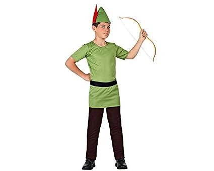 Atosa Disfraz de Arquero Robin Infantil - Niño, de 7 a 9 años ...