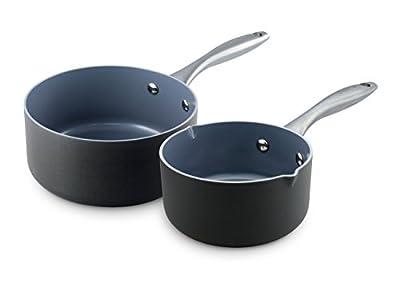 GreenPan Lima 2 Piece Ceramic Non-Stick Sauce Pan Set