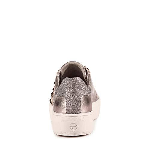 Donna Con Lacci Old Sneaker Stringate 23733 1 Casuale Rose Da scarpe scarpe sportivo scarpe 1 sneaker elegante Tamaris scarpe 22 Strada scarpe Met WwzqpFR