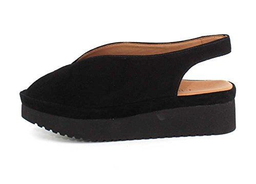 Sandal Ahndray Womens Suede Black Des Kid L`Amour Pieds wqItzRxc1