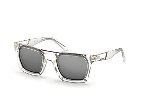 Diesel Dl0250 Square Sunglasses, Crystal, 52 ()