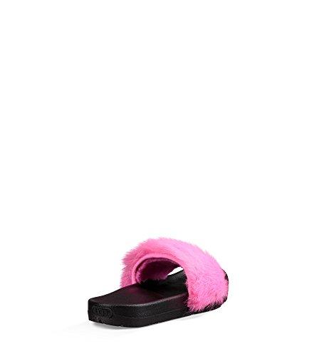 Pink Slide UGG Sandal Women's Australia Royale Neon ZxwHYq