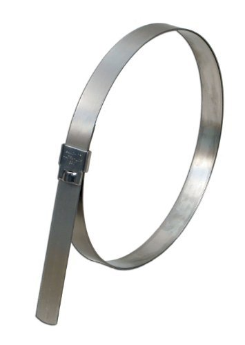 - BAND-IT UL2139 Ultra-Lok 3/4 Wide x 0.030 Thick 4 Diameter, 201 1/4 Hard Stainless Steel Preformed Clamp (25 Per Box) by Band-It
