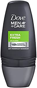 Dove Men+Care Antiperspirant Deodorant Roll On Extra Fresh, 50ml