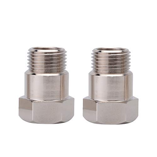 EVIL ENERGY O2 Oxygen Sensor Fitting Bung M18x1.5 Pack Of 2 ()
