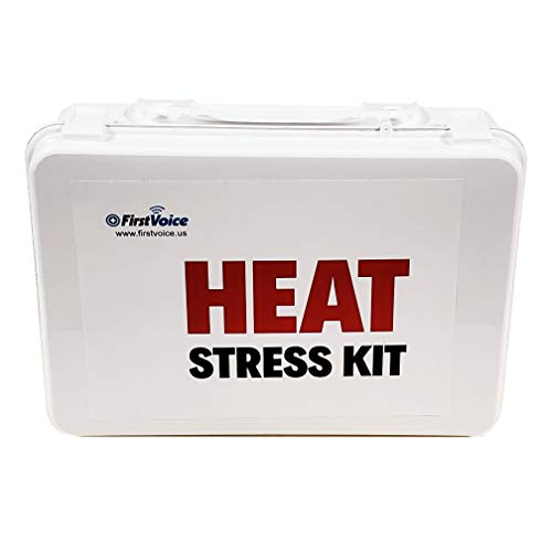 First Voice HEAT01-KIT 24 Person Heat Exhaustion Kit with Plastic -