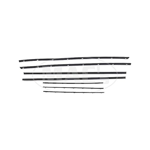 MACs Auto Parts 66-69075 - Ford Thunderbird Beltline Weatherstrip Kit, 2dr. HT