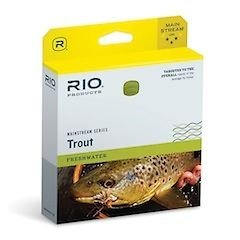 RIO Products Fly Line Mainstream Trout Dt5F Lemon Green, Lemon-Green