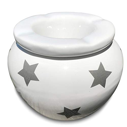 Cheap  Whole House Worlds The Summer Time Ash Tray, 2 Pieces, Gray Stars..