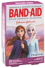Band-Aid Disney Frozen Bandages - First Aid Kid Supplies - 480 Per Pack
