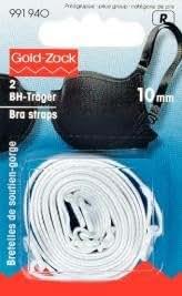 Tirantes para sujetador (10mm), color blanco
