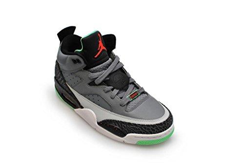 Nike Herren Jordan Son of Low Laufschuhe, Schwarz Grau / Rot / Schwarz (Cl Gry / Blck Infrrd 23-Lt Psn G)