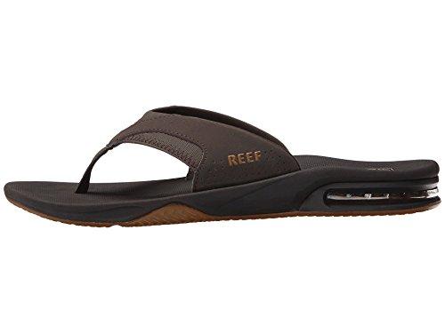 Fanning Men Flops Reef for Bottle Opener Gum2 Mens Brown Flip Sandals pddA8q