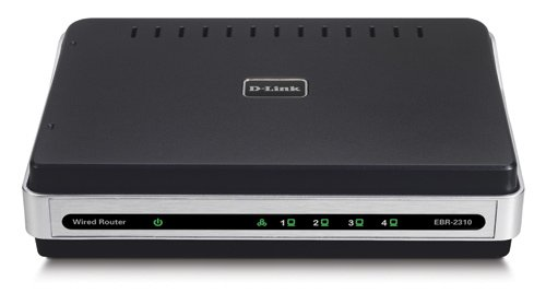 D-Link EBR-2310/REFURBISHED 4-Port 10/100 Switch Wired Ethernet Router