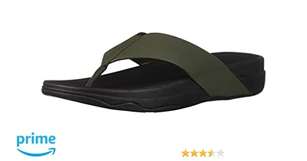 822626d89310d4 FitFlop Men s Surfer Toe Post in Neoprene Flip-Flop