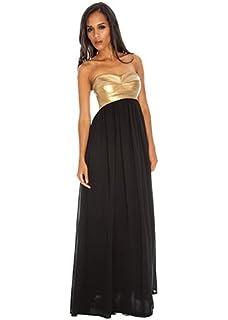 81dd57ba972 Goddess London Stephanie Pratt Open Back Black Sequin Fishtail Maxi ...