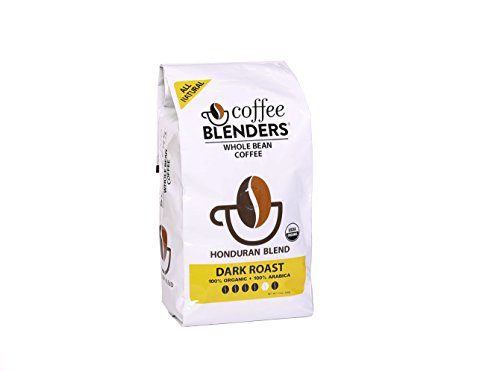 Coffee Blenders Nude Whole Bean Organic Honduran Blend Coffee 12 Ounce Bag