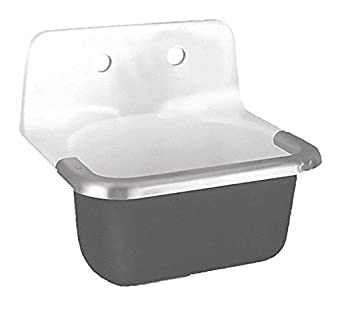 Wall Hung Utility Sink.American Standard Wall Mount Utility Sink 1 Bowl White