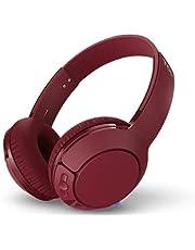 سماعات رأس لاسلكية خفيفة للغاية بمكبرات صوت داخلية بحجم 32 ملم وصوت باس ضخم ومدة تشغيل تصل الى 20 ساعة من تي سي ال MTRO200BT - بورجندي كراش