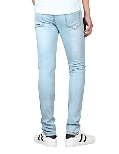 Comodo Stretch Series Pants Pantaloni Vintage Nero Confortevole Jeans Mens Battercake Slim Fit Pencil Denim Skinny Youth 8w7F5qO