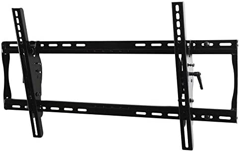 Peerless PT650 Universal Tilt Wall Mount for 39-Inch to 75-Inch Displays Black