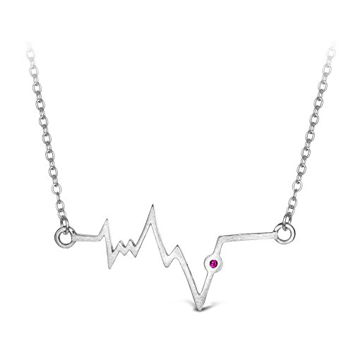 T400 Jewelers Heartbeat Sterling Lifeline