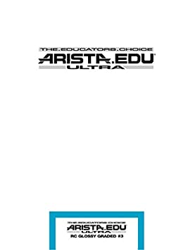 Arista EDU Ultra RC Black & White Photographic Paper, Glossy #3, 8x10, 25 Sheets 178382