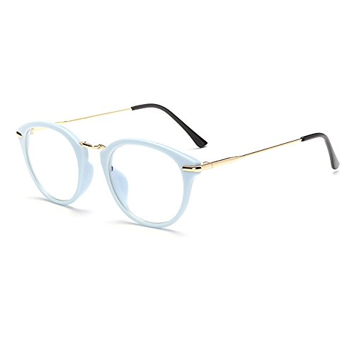 TIJN Vintage Optical Acetate Eyewear Eyeglasses Frame with Clear Lenses