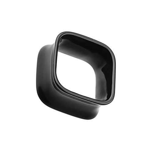 Square Tunnel Double Flared WildKlass Ear Gauge Plug (Sold as Pairs) - Square Tunnel