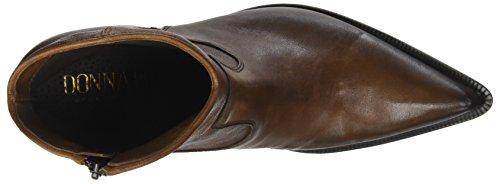 Brown Donna Cuoio Women's Piu Enea Boots Cowboy 020 qwBznqrSXx
