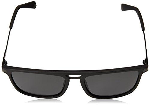 PLD 56 S mat Mat soleil polarisé noir lunettes Polaroid Noir de plat 2060 Noir 003 fq4xnPw