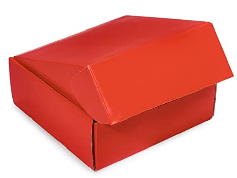 Amazon Com Decorative Shipping Boxes Red Gourmet Shipping